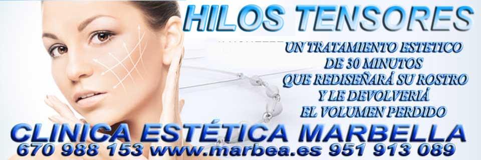 HILOS TENSORES | REDUCCIÓN ARRUGAS MARBELLA