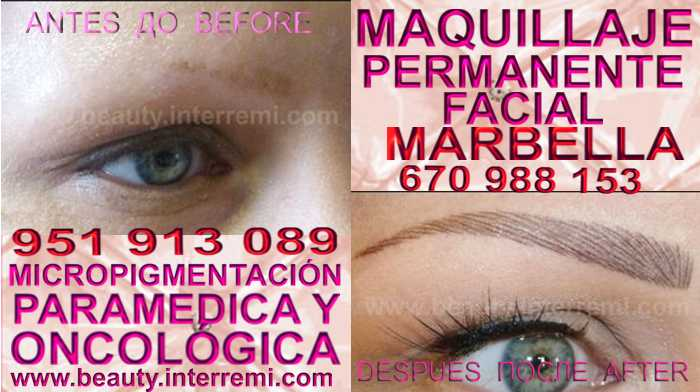 microblading cejas pelo a pelo Marbella en la clínica estetica propone Pigmentación or microblading en Marbella y Marbella