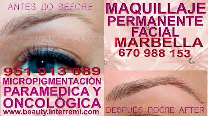 microblading cejas Marbella en la clínica estetica entrega Delineados or microblading Marbella y Marbella
