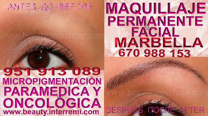 en la clínica estetica ofrece los mejor precio para MAQUILLAJE PERMANENTE , maquillaje permanente de cejas en MARBELLA y marbella