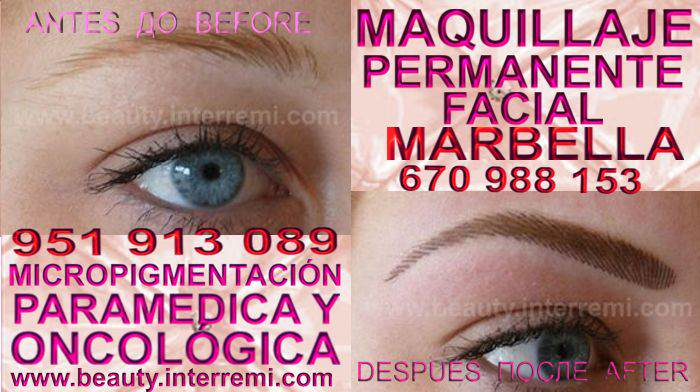 microblading cejas pelo a pelo Marbella en la clínica estetica entrega Delineados or microblading Marbella y Marbella