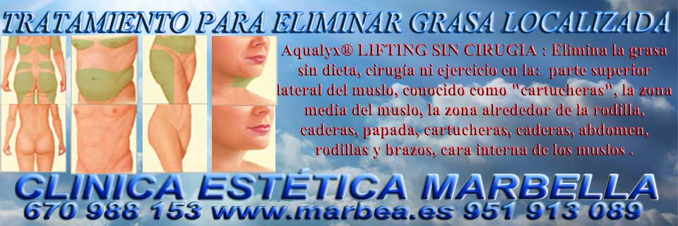 CLINICA ESTÉTICA en MARBELLA ofrece mesoterapia Marbella