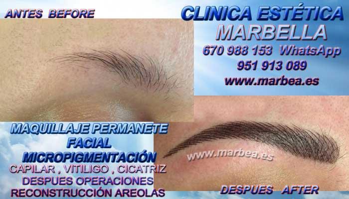 MICROBLADING MARBELLA CLINICA ESTÉTICA entrega Dermopigmentacion labios 3D Marbella