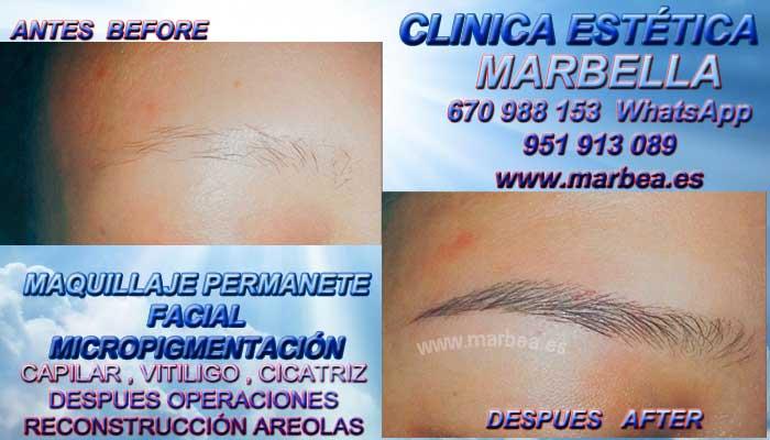 microblading Málaga CLINICA ESTÉTICA ofrenda Micropigmentación labios Marbella y Málaga