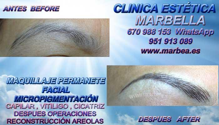 MICROBLADING MÁLAGA CLINICA ESTÉTICA ofrenda Dermopigmentacion labios 3D Marbella y en Málaga