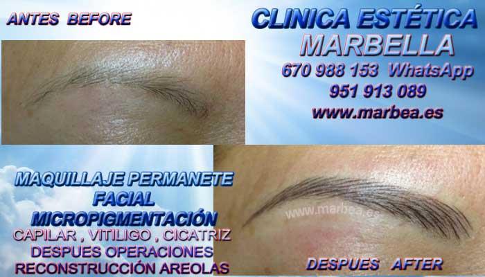MICROBLADING MÁLAGA CLINICA ESTÉTICA ofrenda Dermopigmentacion labios 3D Marbella y Málaga
