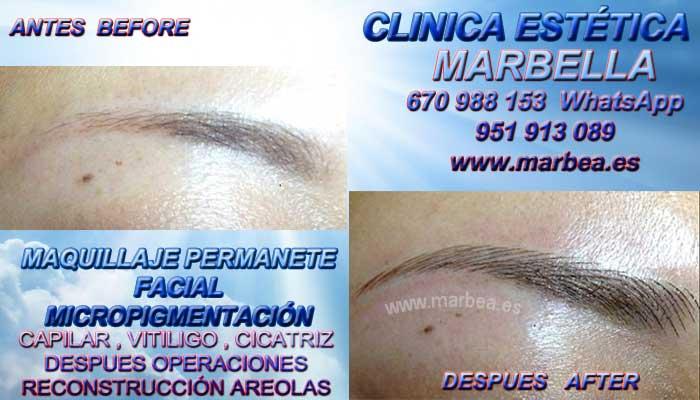 MICROBLADING MÁLAGA CLINICA ESTÉTICA ofrenda Maquillaje Permanente labios Marbella y en Málaga