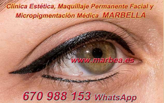 microblading ojos Granada. en la clínica estetica entrega micropigmentación Marbella ojos y maquillaje permanente