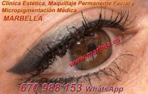 micropigmentación ojos en MARBELLA clínica estética, maquillaje permanente facial y micropigmentación médica y capilar ofrece micropigmentación y maquillaje permanente ojos MARBELLA