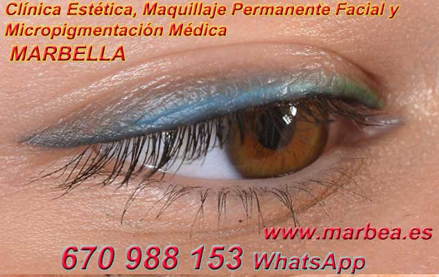microblading ojos Puerto Banus. en la clínica estetica entrega micropigmentación Marbella ojos y maquillaje permanente