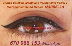 delineados ojos MARBELLA clínica estética, maquillaje permanente facial y micropigmentación médica y capilar ofrece micropigmentación y maquillaje permanente ojos MARBELLA
