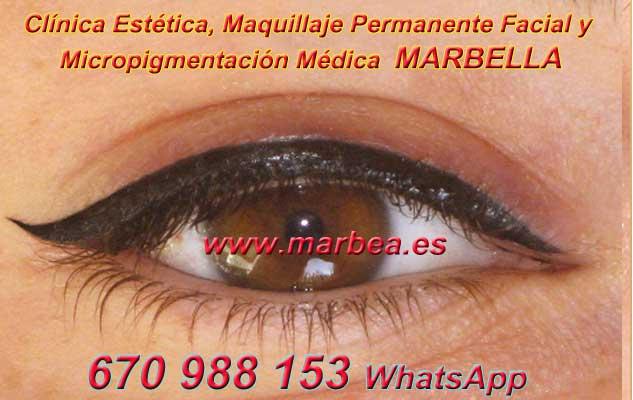 maquillaje permanente ojos Marbella en la clínica estetica entrega micropigmentación Málaga ojos y maquillaje permanente