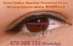 tatuaje ojos MARBELLA clínica estética, maquillaje permanente facial y micropigmentación médica y capilar ofrece micropigmentación y maquillaje permanente ojos MARBELLA