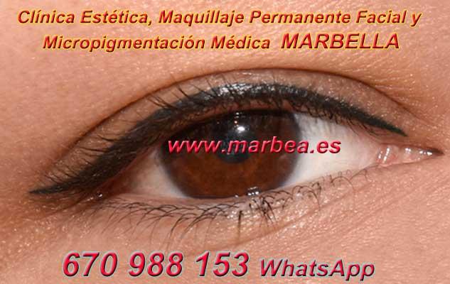 micropigmentación ojos Marbella en la clínica estetica entrega micropigmentación Marbella ojos y maquillaje permanente