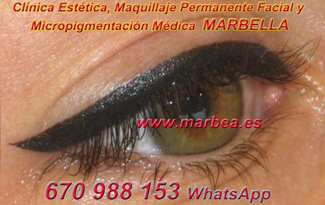 microblading ojos Marbella. en la clínica estetica ofrenda micropigmentación Marbella ojos y maquillaje permanente