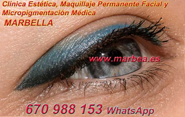 microblading ojos Almería. en la clínica estetica entrega micropigmentación Marbella ojos y maquillaje permanente