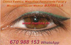 microblading ojos MARBELLA clínica estética, maquillaje permanente facial y micropigmentación médica y capilar ofrece micropigmentación y maquillaje permanente ojos MARBELLA