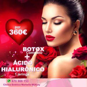 San Valentin Marbella El Clinica Estética Marbella BEAuty, ha preparado especial ofertas para que tu cara esté radiante