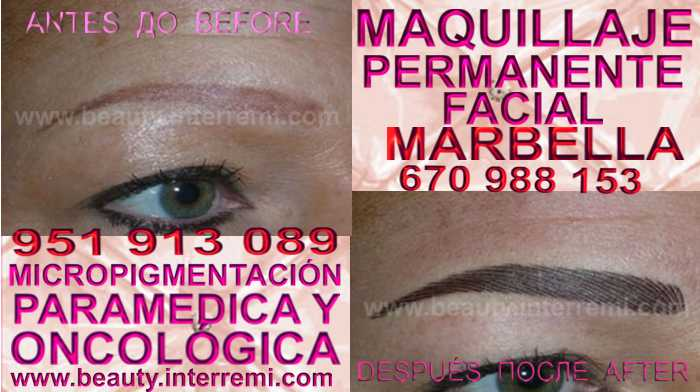 en la clínica estetica ofrece micropigmentación MÁLAGA cejas y maquillaje permanente