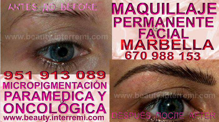 en la clínica estetica ofrece micropigmentación FUENGIROLA cejas y maquillaje permanente